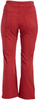 Red Straight-Leg Pants - Plus Too