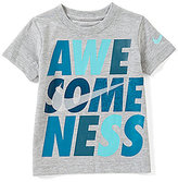Nike Little Boys 2T-7 Awesomeness Short-Sleeve Tee