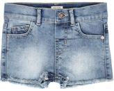 River Island Mini girls frayed hem denim shorts