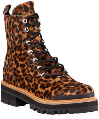 Marc Fisher Izziely Leopard Hiker Boots
