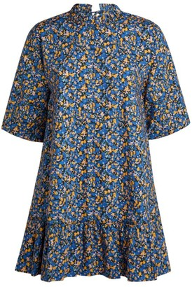 Camilla And Marc Majella Abstract Floral Mini Dress