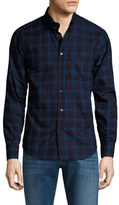 Naked & Famous Denim Regular Plaid Sportshirt