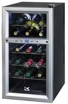 Kalorik 18-Bottle Dual-Zone Wine Cooler