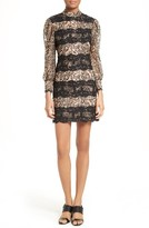 Tracy Reese Women's Lace Stripe Sheath Dress