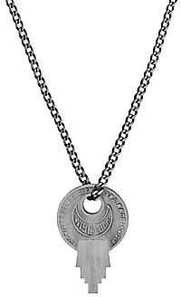 Miansai Men's Wise Lock Sterling Silver Necklace