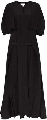 Jil Sander flutter maxi dress