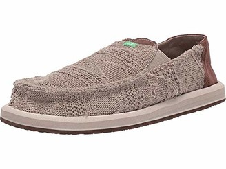 Sanuk Pick Pocket Knit Khaki/Brown 7