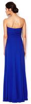 Carolina Herrera Silk Strapless Pleated Bodice Gown
