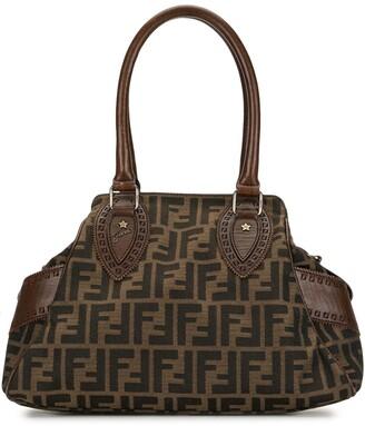 Fendi Pre-Owned Zucca Du Jour Star handbag