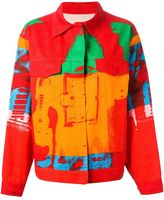 Andy Warhol Stephen Sprouse Vintage boxy denim jacket