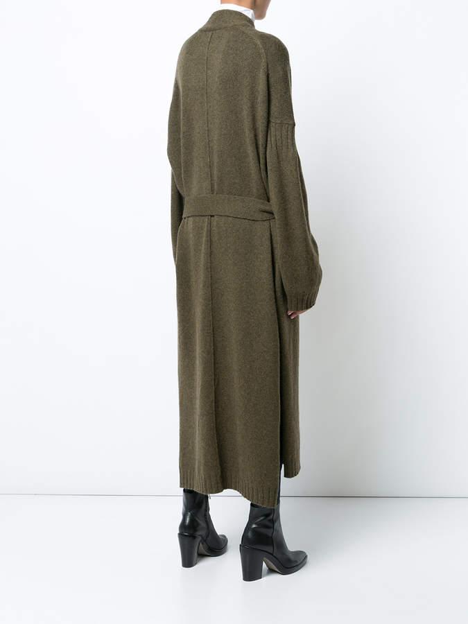 Nili Lotan Kinsley long wrap cardigan