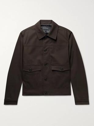 Club Monaco Cotton-Blend Twill Chore Jacket