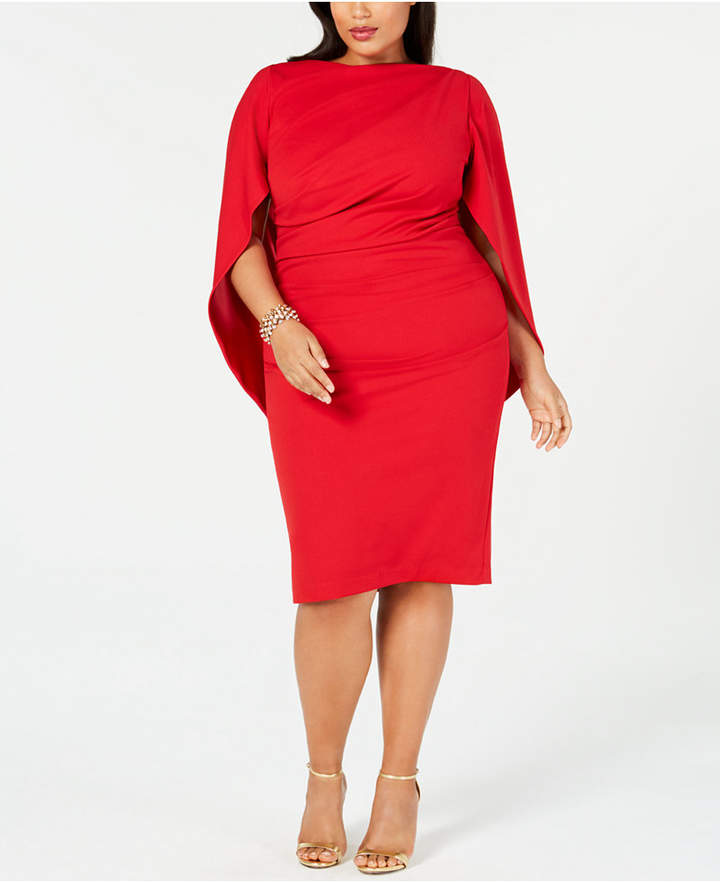 Plus Size Ruched Dress - ShopStyle