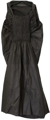 Rick Owens Brown Leather Dress for Women