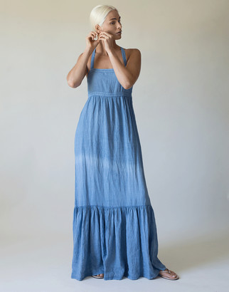 HONORINE Athena Tank Dress - Blue Jean