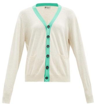 Connolly - Art Colour-block Cotton Cardigan - Green Multi