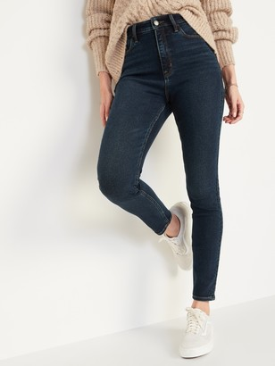 Old Navy Extra High-Waisted Rockstar 360 Stretch Super Skinny Jeans for Women