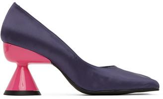 Paula Canovas Del Vas Purple Diablo Heeled Pumps