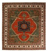 Solo Rugs Ziegler Collection Square Oriental Rug