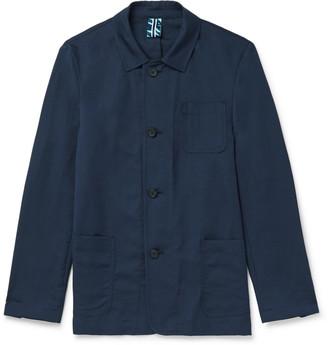 HUGO BOSS Norvil Slim-Fit Cotton And Linen-Blend Field Jacket