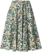 Burberry beasts print skirt