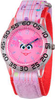 Sesame Street Girls Purple Abby Cadabby Time Teacher Strap Watch W003160