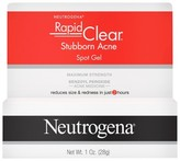 Neutrogena Rapid Clear Stubborn Acne Spot Gel - 1oz