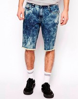 Altamont Almeda Denim Shorts In Slim Fit