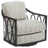 Tommy Bahama Royal Kahala Swivel Patio Chair with Sunbrella Cushions Outdoor