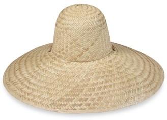 LACK OF COLOR Meadow Dome Woven Wide-Brim Hat