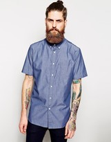 Element Shirt In Chambray Short Sleeves