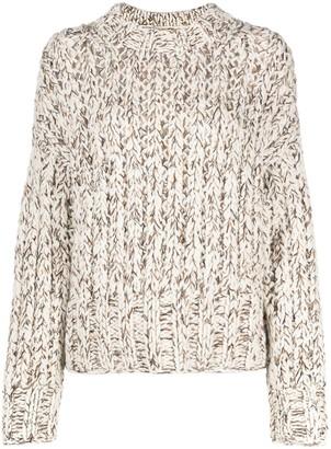 Theory Hand-Knit Wool-Blend Sweater