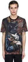 Dolce & Gabbana Panther Printed Cotton Jersey T-Shirt