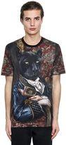 Dolce & Gabbana Panther Printed Cotton Jersey T-Shirt