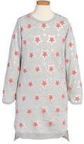 Stella McCartney Girl's 'Irina' Star Print Sweatshirt Dress