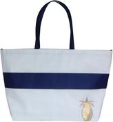 Pineapple Stripe Tote Bag