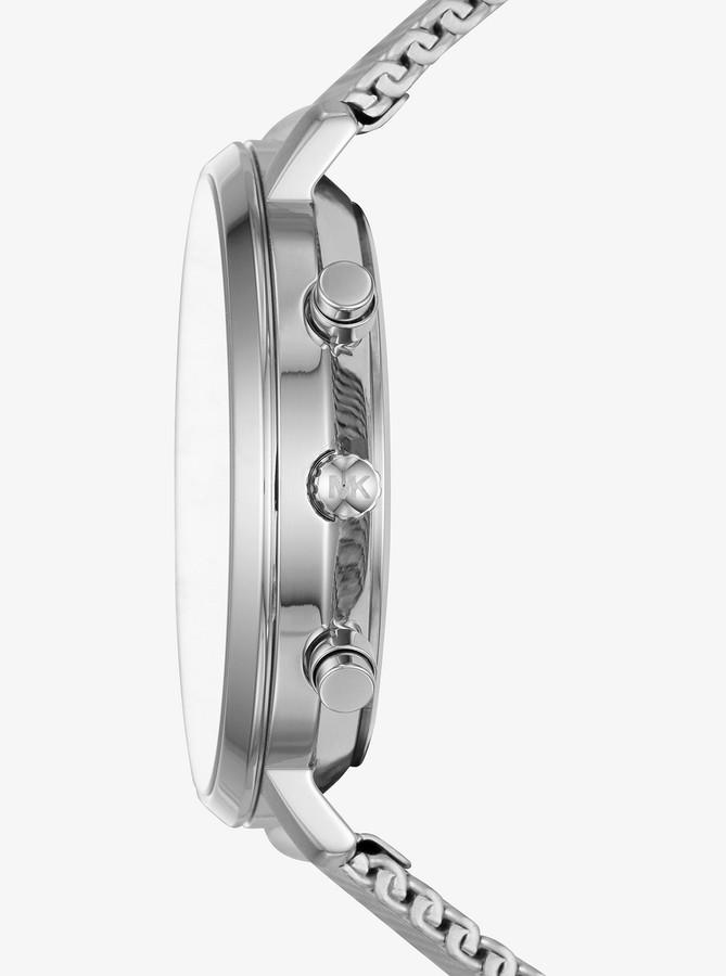 Michael Kors Jaryn Mesh Silver-Tone Watch