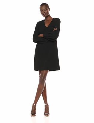Karen Kane Women's Blouson Sleeve Crepe Dress