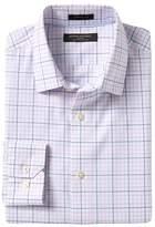 Banana Republic Camden Standard-Fit Non-Iron Stretch Grid Shirt