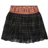 Scotch R'Belle Scotch R Belle Tartan Waist Detail Skirt