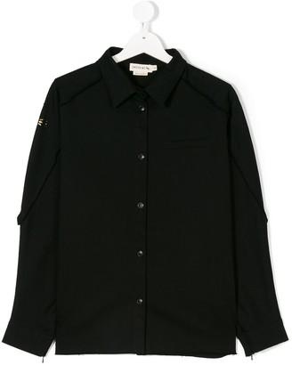 Andorine Embellished Denim Shirt