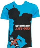 Marvel Michael Cho Astonishing Ant-Man Adult Big Print Subway T-Shirt Tee