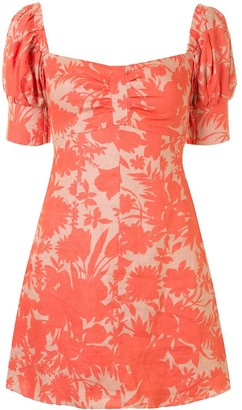 Alexis Botanical Print Dress