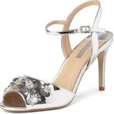 Dorothy Perkins Womens Online Exclusive Silver 'Scarlett' Sandals- Silver