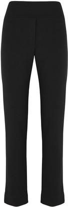Crea Concept Black slim-leg trousers