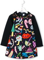 Simonetta cartoon print dress