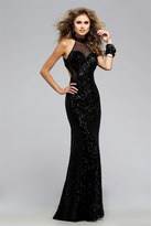 Faviana Bewitching Fully Sequined Evening Gown 7707