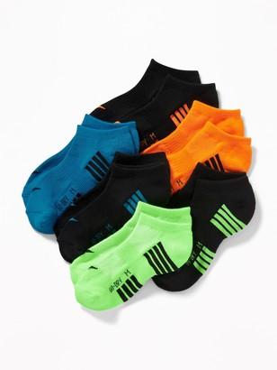 Old Navy Go-Dry Ankle Socks 6-Pack for Boys