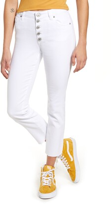 STS Blue High Waist Ankle Straight Leg Jeans