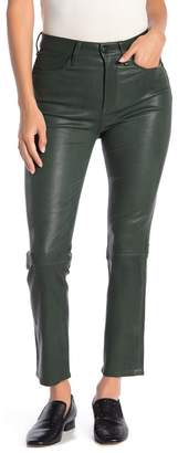 Rag & Bone High Waisted Lambskin Leather Pants